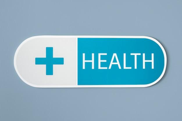 健康と医療医療のアイコン 無料写真