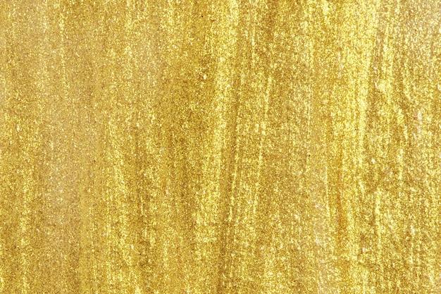 メタリックゴールドの背景 無料写真