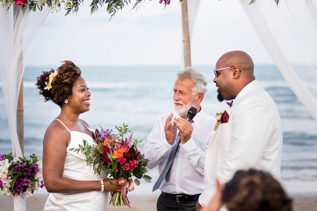 幸せな花嫁、 Premium写真