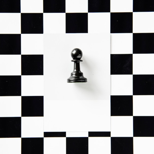 パターンのポーンチェスの駒 無料写真