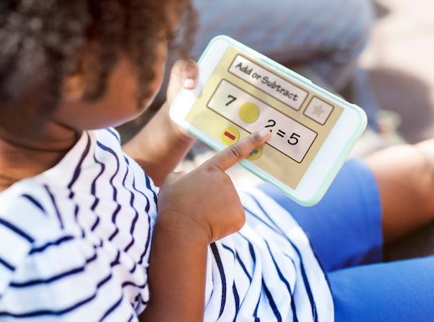 学生教育数学のシンボル Premium写真