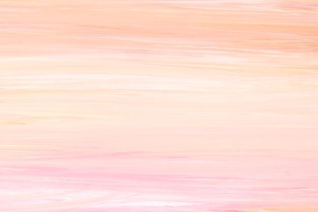 ピンクとオレンジの背景 Premium写真