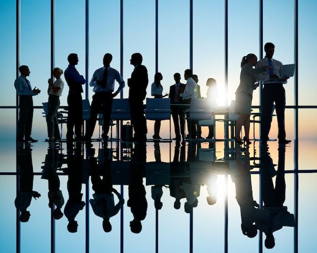 ビジネス人々の集会 Premium写真