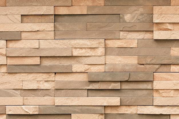 壁面用不均一砂岩タイル 無料写真