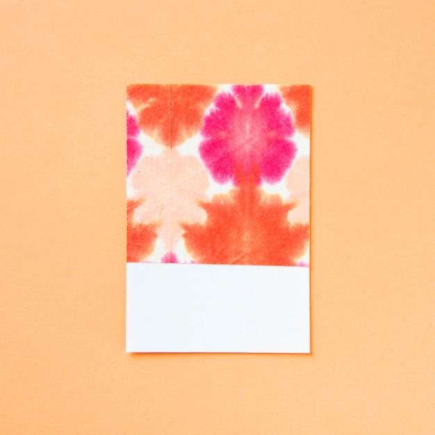 乙女チックなカラフルな花の芸術的なパターン 無料写真