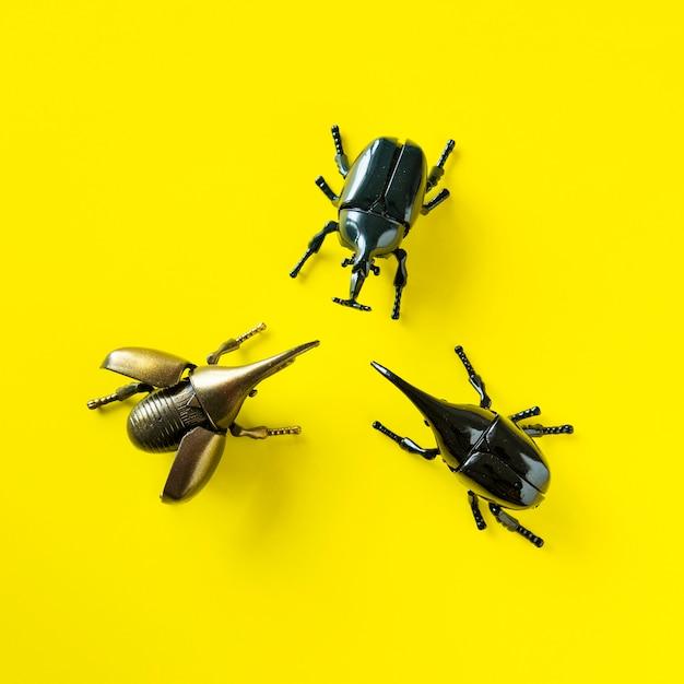 翼カブトムシ昆虫おもちゃオブジェクト 無料写真