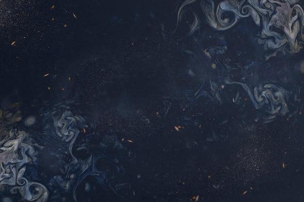 抽象的な青い絵 無料写真