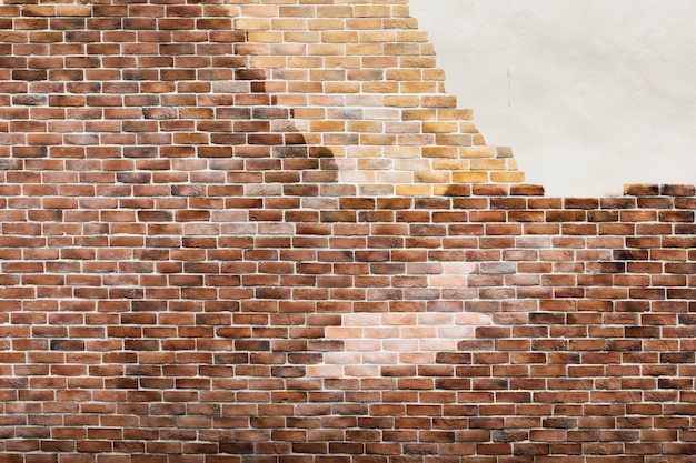 茶色のレンガの壁 無料写真