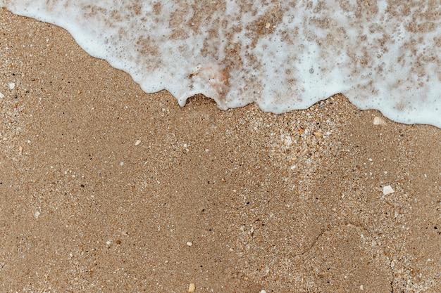 砂浜のビーチの背景 無料写真
