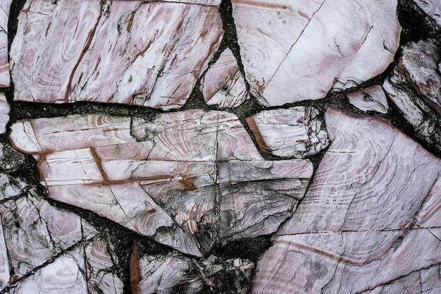 グレーの大理石のテクスチャ背景 無料写真
