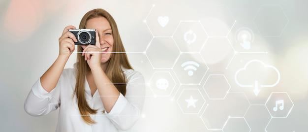 Женщина камеры Бесплатные Фотографии