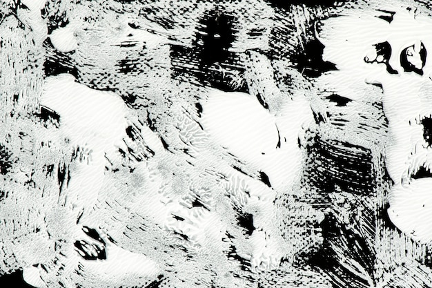 Белая краска на черном Бесплатные Фотографии