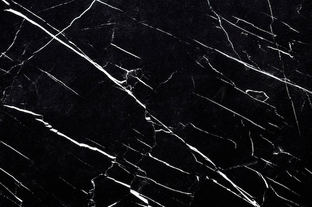 黒と白の大理石の織り目加工の壁のクローズアップ 無料写真