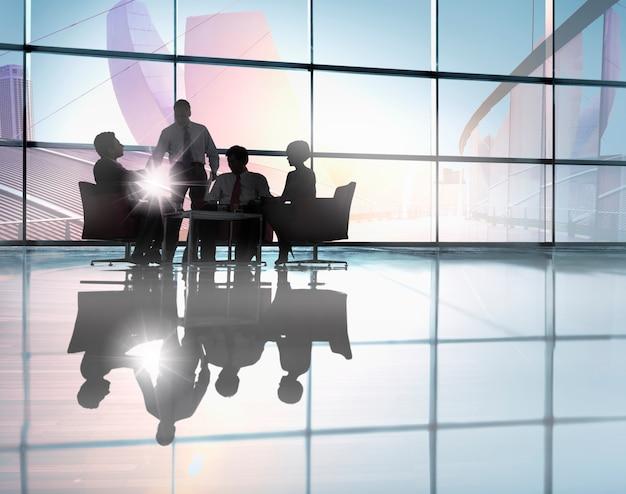 コーポレートビジネスミーティング Premium写真
