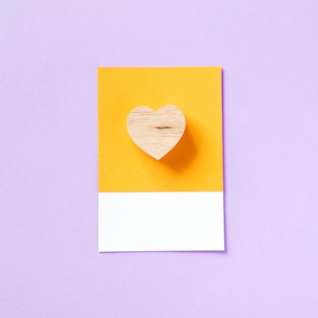 愛のためのハート形のシンボル 無料写真
