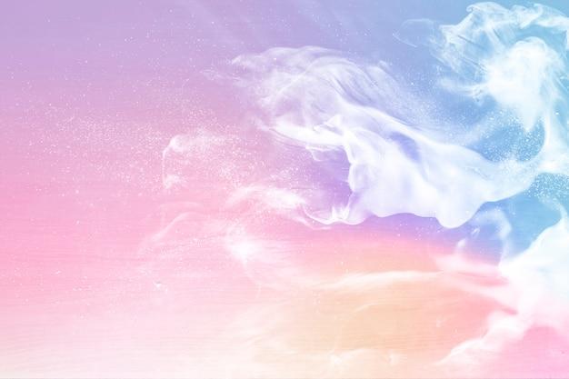 ピンクのパステル調の背景 無料写真