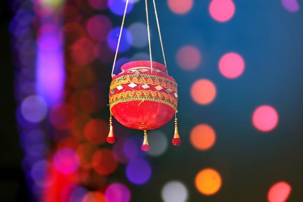 インド・ダヒ・ハンディ祭りの写真 Premium写真