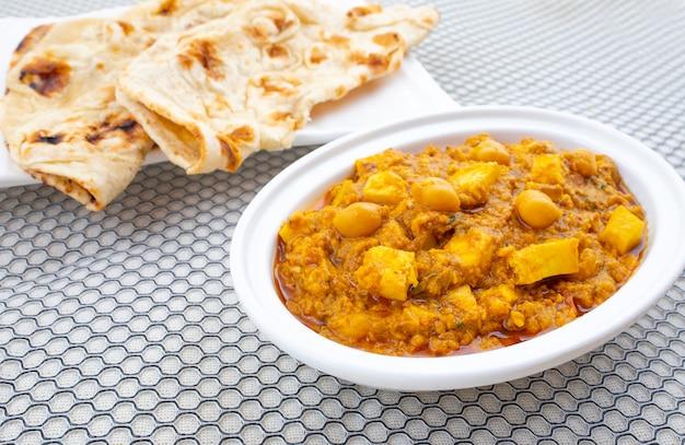 北インドのヘルシー料理 Premium写真