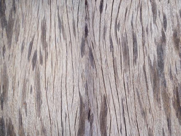 古い木目の表面。ビンテージ木材のテクスチャ背景 Premium写真