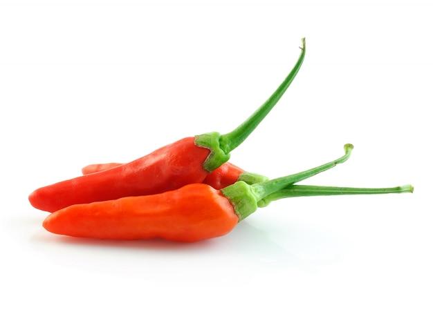 Красный острый перец чили Premium Фотографии
