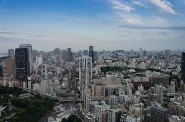 東京の街の景色、建物 Premium写真