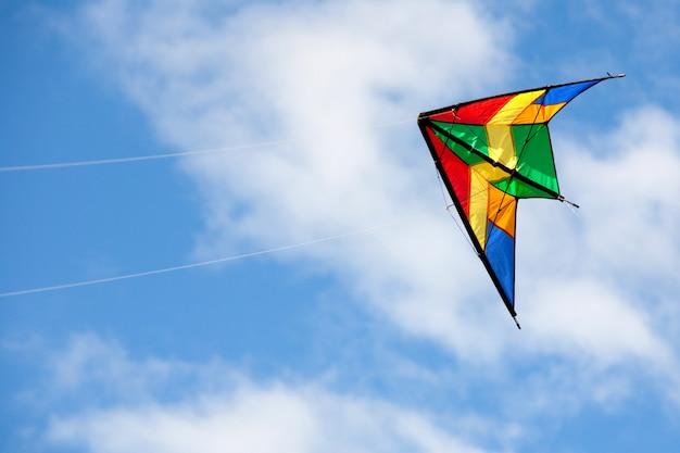 ニース凧飛行 Premium写真