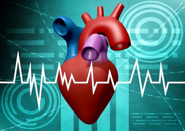 心臓分析 Premium写真