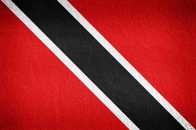 トリニダードトバゴの国旗 Premium写真
