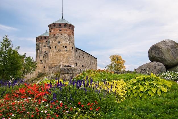 Замок олавинлинна Premium Фотографии