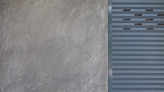 ローラーシャッタードア付セメント Premium写真