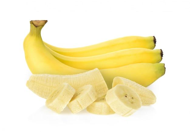 Банан изолирован Premium Фотографии