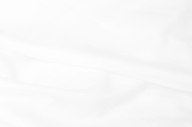 柔らかい波と白い布の背景を抽象化します。抽象的な背景。 Premium写真