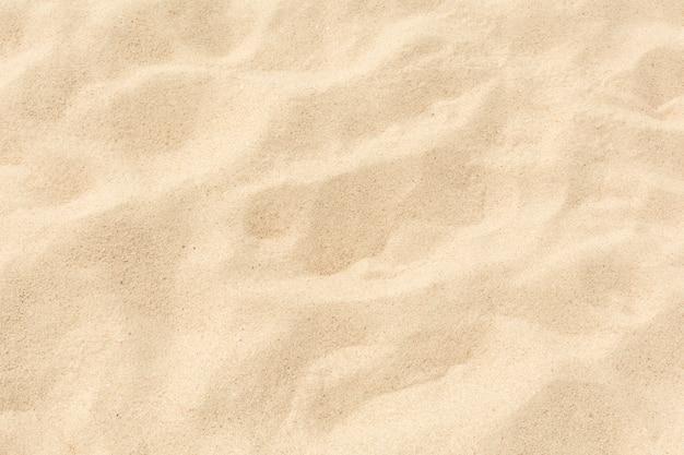 ビーチで砂の滑らかな質感 Premium写真