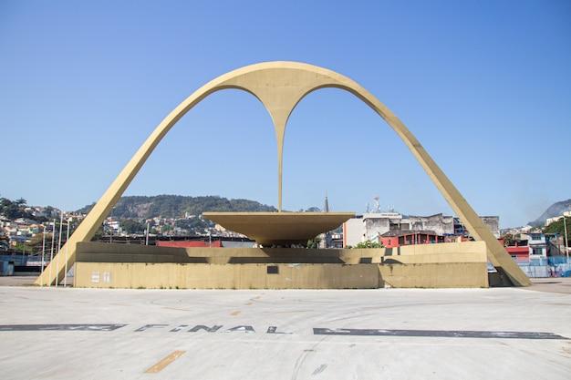 ブラジル、リオデジャネイロの神格化広場 Premium写真