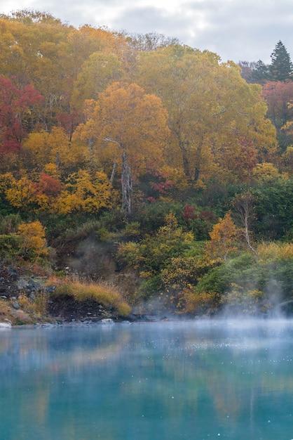 秋の温泉青森日本 Premium写真