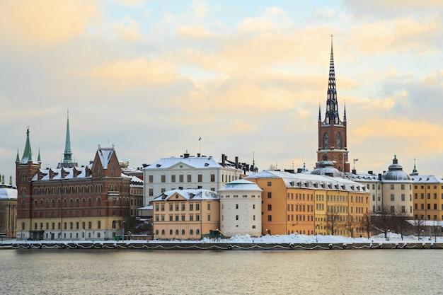 Стокгольм город швеция Premium Фотографии