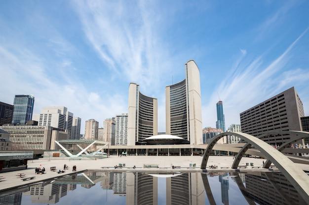 Торонто сити холл Premium Фотографии