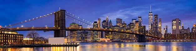 ブルックリンブリッジニューヨーク Premium写真
