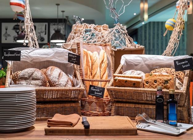 Хлеб станция Premium Фотографии