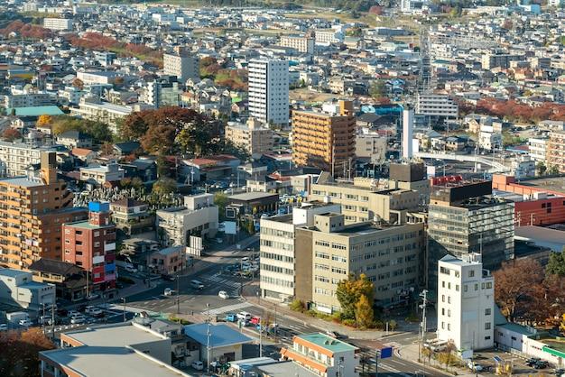 郡山福島 Premium写真