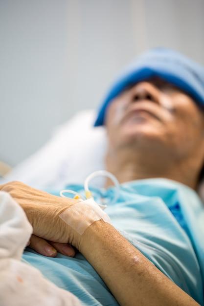 Пациент спит Premium Фотографии