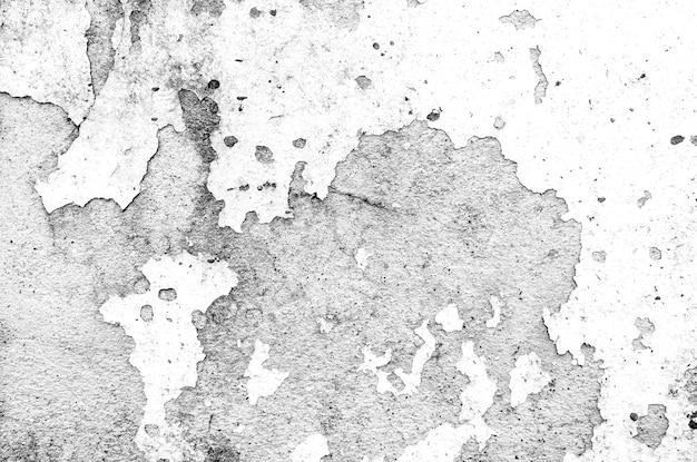 黒と白のテクスチャ抽象的なグランジスタイル。 Premium写真