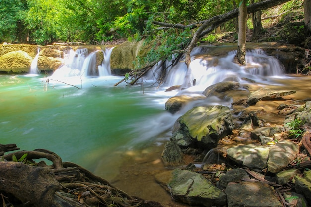 タイのチェ・サオノイ滝国立公園 Premium写真