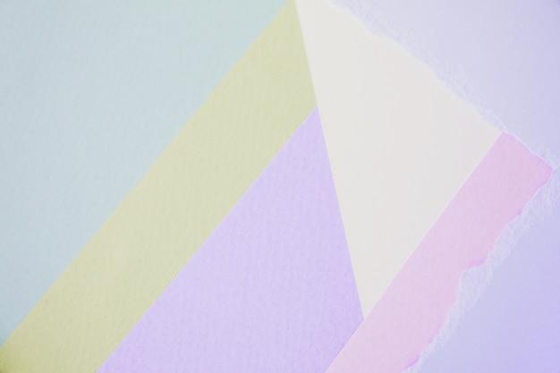 抽象的な紙はカラフルな背景、パステルカラーの壁紙のための創造的なデザインです。 Premium写真