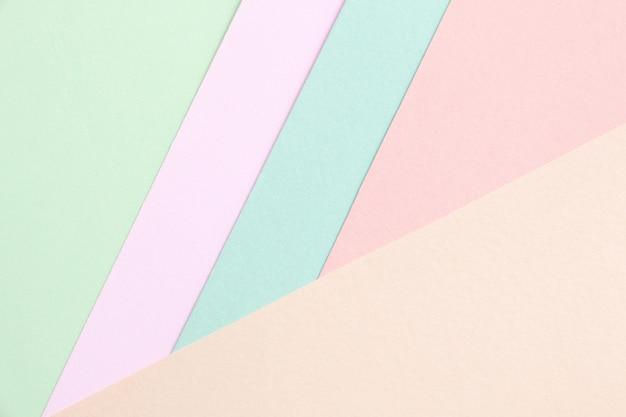 パステルカラーの壁紙のためのクリエイティブデザイン。 Premium写真