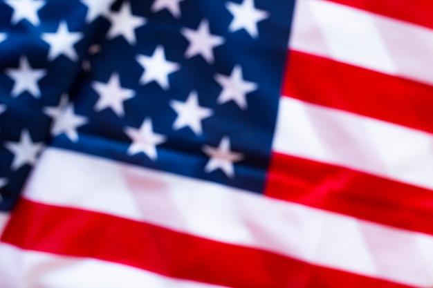 Флаг соединенных штатов америки Premium Фотографии