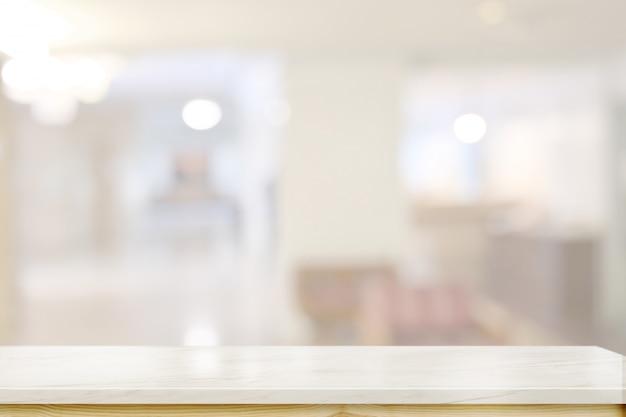 Столешница из мрамора в гостиной Premium Фотографии