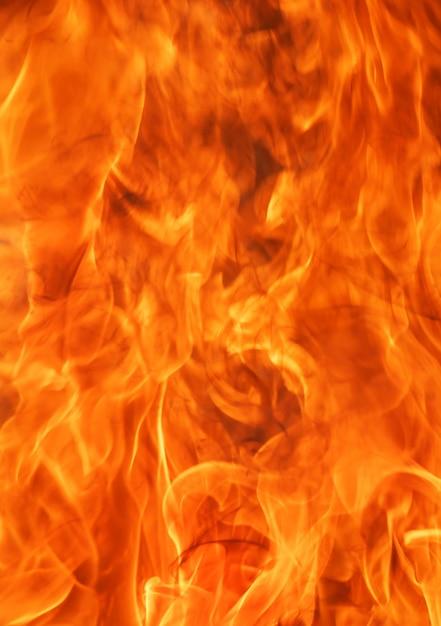 抽象的な炎火炎テクスチャ背景。 Premium写真