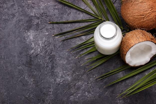ココナッツビーガンミルク Premium写真
