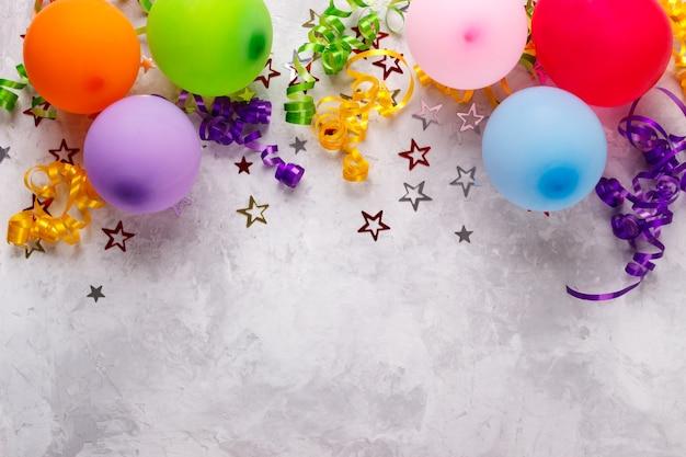誕生日パーティーの背景 Premium写真
